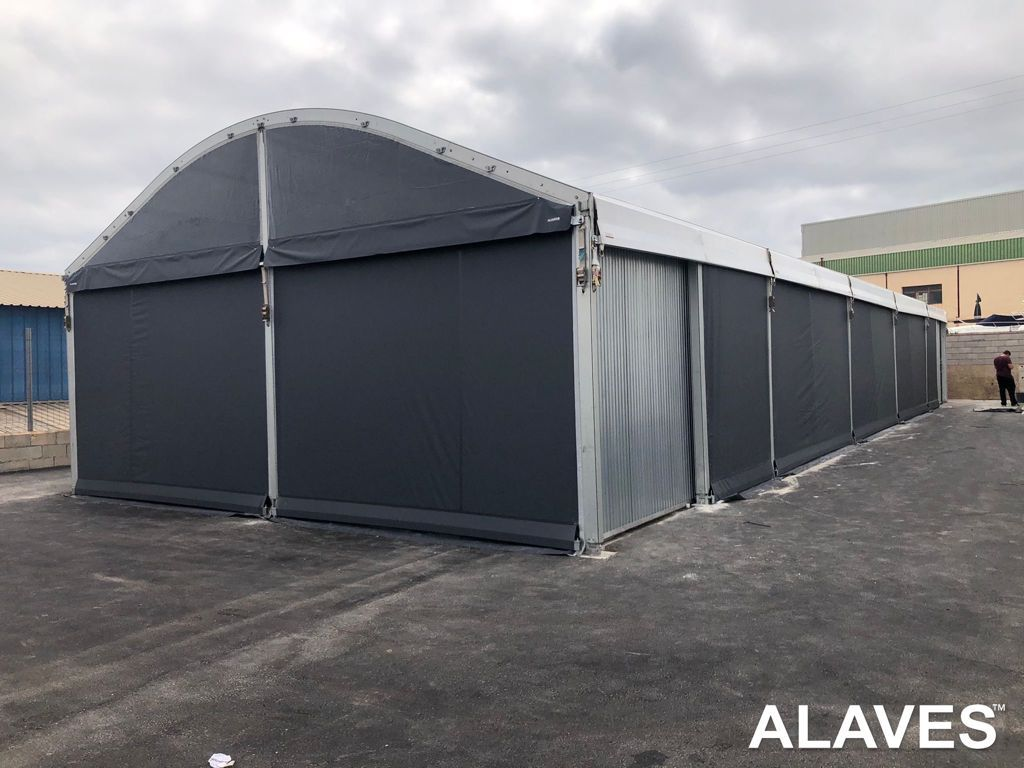 Carpa arco de 8x25m ALAVES HTT