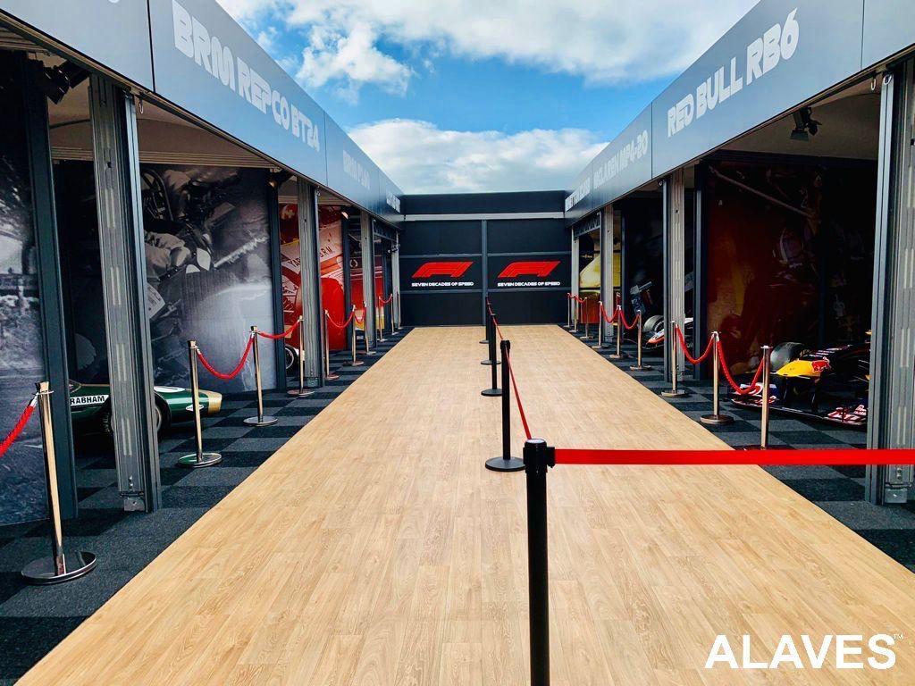 Carpa Alaves -Circuito de Silverstone