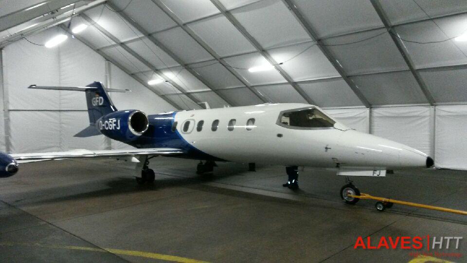Carpas almacen hangar - ALAVES-HTT