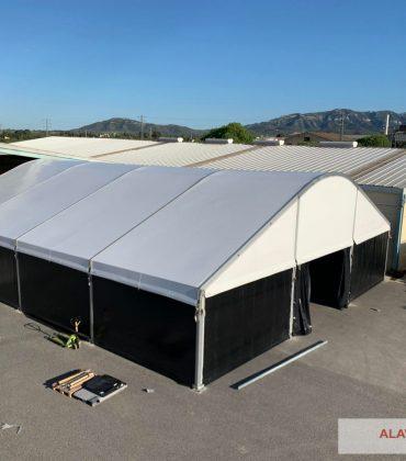 Carpas almacenaje industriales ALAVES-HTT
